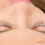 Pestanas con piedritas Jeweled lashes