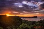Amanecer sobre Parque Nacional Manuel Antonio